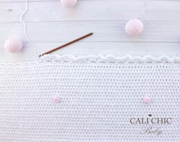 Cotton Candy Baby Blanket #160