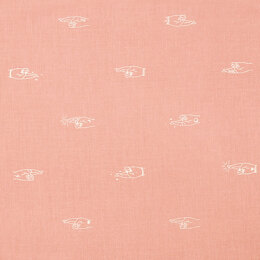 Figo Fabrics Lucky Charms - Pink Fingers Crossed