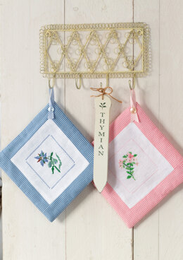Anchor Aromatic Plants - Thyme and Borage Pot Holders - 0060044-00901_11 -  Downloadable PDF