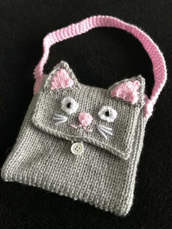 Kids cat bag purse