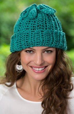 Two-for-One Hat and Cowl in Red Heart Soft Solids - LW3902