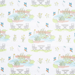 Craft Cotton Company Lily Pad - In The Garden