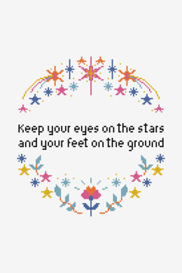 Eyes On The Stars in DMC - PAT0841 - Downloadable PDF
