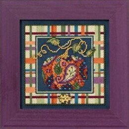 Mill Hill Paisley Pumpkin Cross Stitch Kit