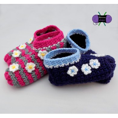 Frolic in the Flowers Slippers - Adult