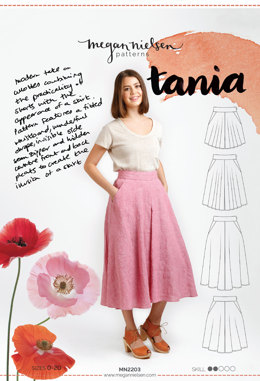 Megan Nielsen Tania Culottes MN2203 - Sewing Pattern