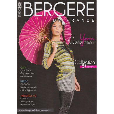Bergere de France Magazine 169 - Yarn Generation Collection