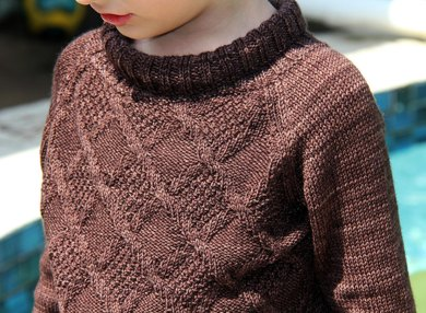 Kid's Chocolate Sweater