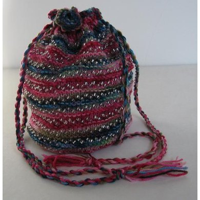 Beads, Knits and Purls, Beaded Bag