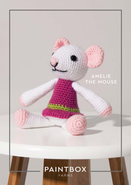 """Amelie the Mouse"" - Free Crochet Pattern For Toys in Paintbox Yarns Simply DK - 007"