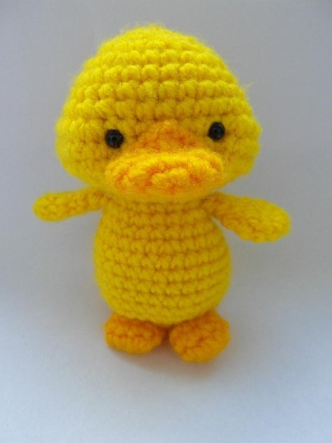 Baby Duck Hat Knitting Pattern : Yellow Duckling Crochet pattern by Justyna Kacprzak Crochet Patterns Love...