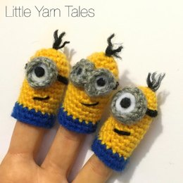 Minion-Inspired Finger Puppets