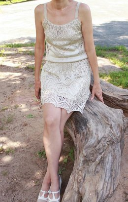 Tunic-dress from Heirloom Knitting