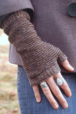 Earl grey mitts