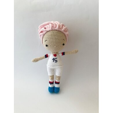 Paintbox Yarns Megan Rapinoe Doll 6 Ball Colour Pack