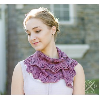 Battenburg Lace Scarf
