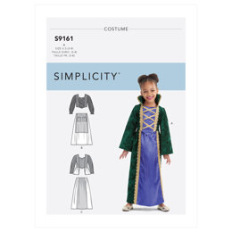 Simplicity Children's Witch Costumes S9161 - Sewing Pattern