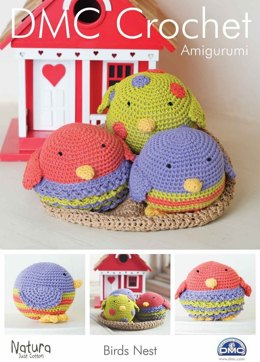 Bird's Nest Toy in DMC Natura Just Cotton - 15097L/2