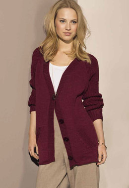 Jacket in Lana Gossa Cool Wool