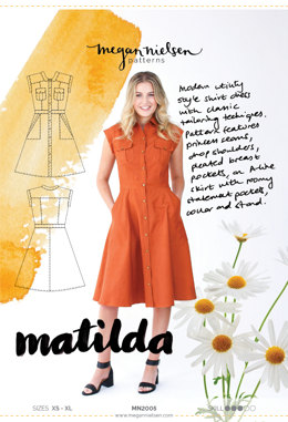 Megan Nielsen Matilda Dress MN2005 - Sewing Pattern