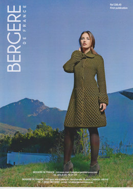 Coat in Bergere de France Magic+ - 33640