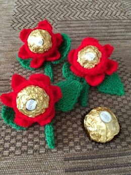 Valentine Rose with Ferrero Rocher