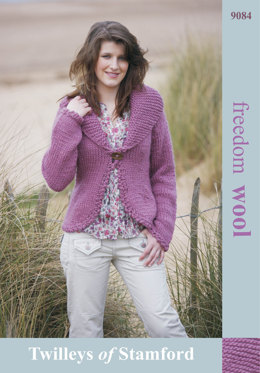 Fitted Jacket in Twilleys Freedom Wool - 9084