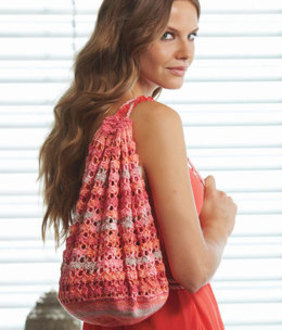 Tote in Schachenmayr Micro Summer Color - Downloadable PDF