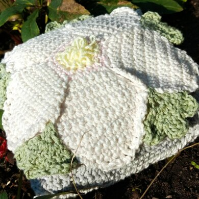 Hellebore 8 inch square and scatter cushion