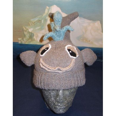 There She Blows Whale Beanie Hat
