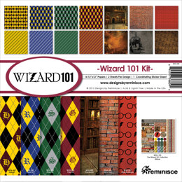 """Reminisce Collection Kit 12""""X12"""" - Wizard"""