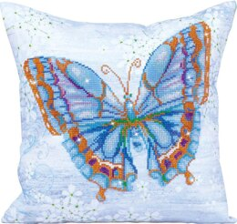 Diamond Dotz Papillon Bleu Pillow Diamond Dotz Kit