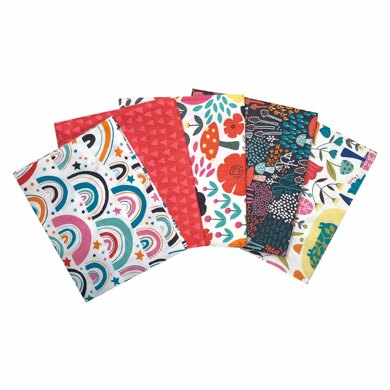 Visage Textiles Chimney Meadows Fat Quarter Bundle - Multi