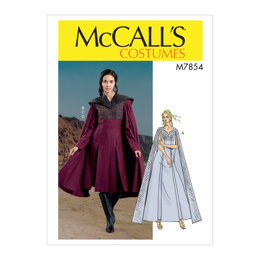 McCall's Misses' Costume M7854 - Sewing Pattern