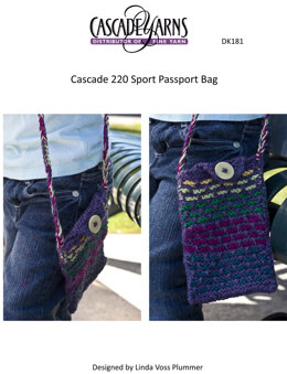 Passport Bag in Cascade 220 Sport - DK181