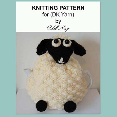 Delia Sheep Lamb Kitchen Farmyard Country Dk Yarn Tea Pot Cosy By