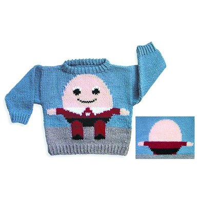Humpty Dumpty Sweater To Knit Knitting Pattern By Valerie Love