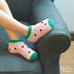 Watermelon Chunky Slippers - Child