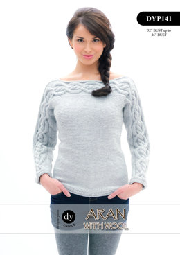 Jumper in DY Choice Aran With Wool - DYP141