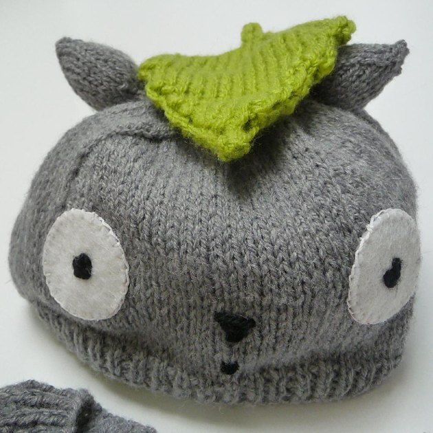 Knitting Pattern For Totoro Hat : Totoro baby outfit Knitting pattern by Tiggs Togs Knitting Patterns ...