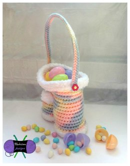 Funny Bunny Pants Easter Basket