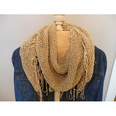 Fringed Benefits Neck Scarf