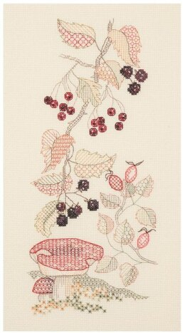 Derwentwater Designs Autumn Cross Stitch Kit - Multi