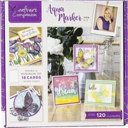 Crafter's Companion Craft Box Kit - Aqua Marker