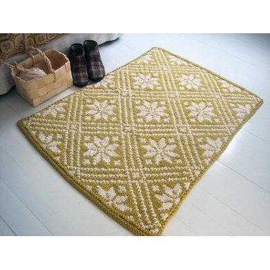 Youre A Star Rug Knitting Pattern By Minttu