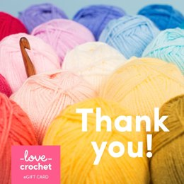 LoveCrochet eGift Card - Thank You!