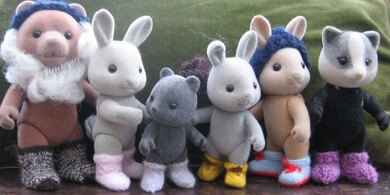 Boots & Socks for Sylvanian Families and Calico Critters