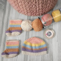 Baby Cap and Booties