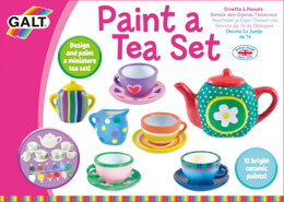 Galt Toys Paint a Tea Set - 20 x 28 x 5cm