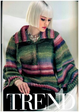 Trend Sweater in Noro Kureyon